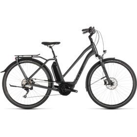 Cube Town Sport Hybrid Pro 500 E-citybike Trapez grå